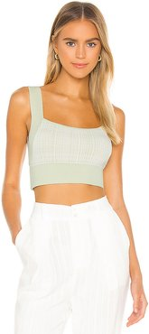 Relaunch Knit Top in Mint. - size XS (also in L,M,S)