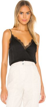 The Chanelle Cami in Black. - size XS (also in L,M,S)