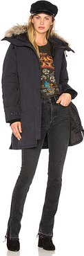 Shelburne Parka in Navy. - size S (also in XS)