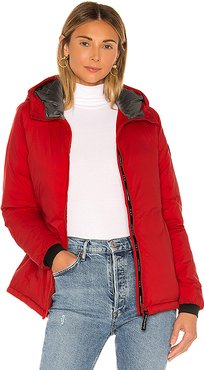 Camp Hoody Jacket in Red. - size S (also in XS)