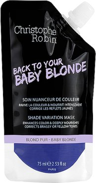 Travel Shade Variation Care Mask in Baby Blonde.