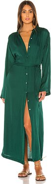 Paradiso Dress in Dark Green. - size XS (also in L,M,S)