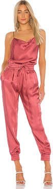 Finnley Jumpsuit in Pink. - size XS (also in L,M,S)