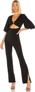 Stefana Jumpsuit in Black. - size M (also in XS,S,L,XL)