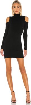 Taylor Sweater Dress in Black. - size M (also in XS)