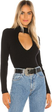 Whitley Sweater in Black. - size L (also in S,M)