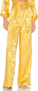 Priscila Pant in Yellow. - size S (also in L,M,XL,XS)