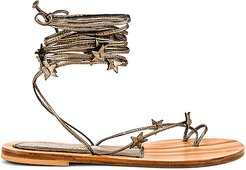 Stellina Sandal in Nude. - size 40 (also in 41)