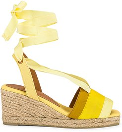 Delia Sandal in Yellow. - size 39 (also in 36,37,38,40,41)