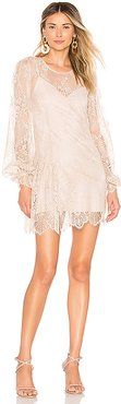 x REVOLVE Phulay Sunset Dress in Neutral. - size XXS (also in S)