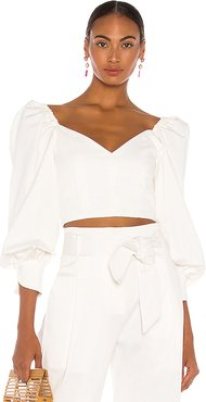 Debi Top in Ivory. - size XS (also in M)