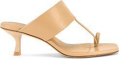 Yvette Sandal in Cream. - size 40 (also in 36.5,38,38.5,39)