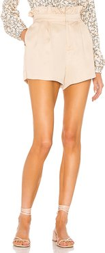 Leah Short in Tan. - size XS (also in L,M,S)