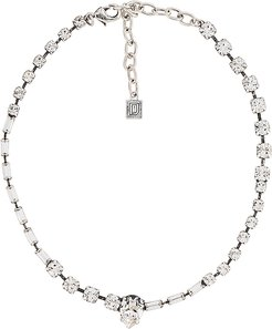 Altair Necklace in Metallic Silver.