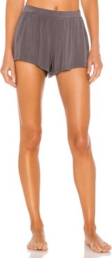 Finley Not So Basic Short in Charcoal. - size L (also in M)