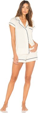 Gisele Pj's in Ivory. - size L (also in M)