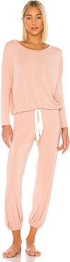 Gisele Slouchy Set in Pink. - size M (also in L)