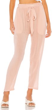 Summer Of Love Hudson Pant in Pink. - size L (also in M)