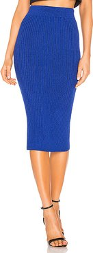 Eva Sweater Skirt in Royal. - size M (also in S)