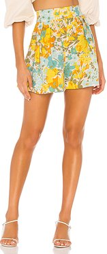 Ondine Short in Yellow. - size M (also in S,XS)