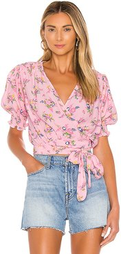 La Colle Top in Pink. - size L (also in S,XS,M,XL)