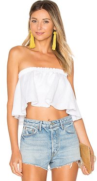 Suns Out Top in White. - size L (also in M,S,XS)