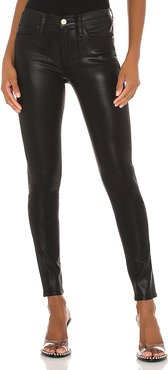 Le Skinny Coated Jean. - size 29 (also in 23,24,25,26,27,28)
