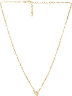 Alice Necklace in Metallic Gold.