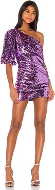 Madeleine Sequin Dress in Purple. - size XS (also in S)