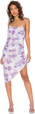 Zinna Midi Dress in Lavender. - size XS (also in S,M,L)