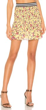 Odette Mini Skirt in Yellow. - size M (also in XS)
