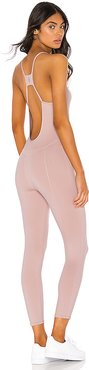 X FP Movement Side To Side Jumpsuit in Pink. - size XS (also in S,M,L)