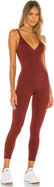 X FP Movement Take Me Away Onesie in Burgundy. - size L (also in XS,M)