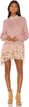 Opposites Attract Mini Dress in Pink. - size M (also in S)