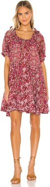 Jet Set Mini Dress in Pink. - size S (also in XS,M)