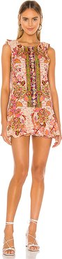 Summer In Tulum Mini Dress in Pink. - size XS (also in S,M)