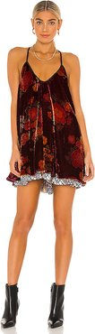 Two Faced Mini Dress in Wine. - size XS (also in L,M,S)