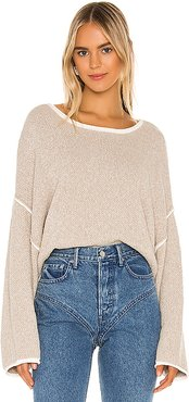 Bardot Sweater in Taupe. - size M (also in L)