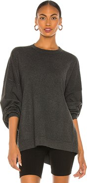 Uptown Pullover in Charcoal. - size XS (also in L,M,S)