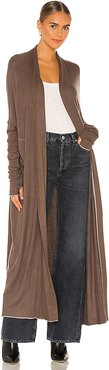 Warm Up Cardi in Taupe. - size M (also in L,S,XS)