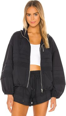 X FP Movement Check It Out Jacket in Black. - size M (also in S)