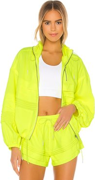 X FP Movement Check It Out Jacket in Yellow. - size M (also in XS,S,L)