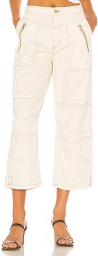 Misty Road Pant in Cream. - size 4 (also in 0,10,2,6,8)