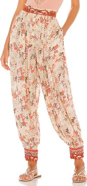Picnic Partay Pant in Beige. - size XS (also in S)