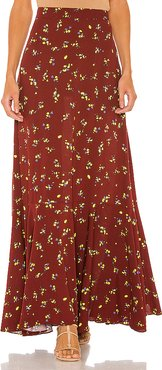 Ruby's Forever Maxi Skirt in Brown. - size 0 (also in 2,4)