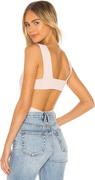 Oh Shes Strappy Bodysuit in Pink. - size S (also in M)