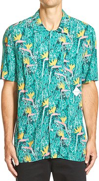 Paradiso Shirt in Green. - size M (also in S,L)