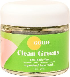 Clean Greens Superfood Face Mask in Beauty: NA.