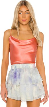 Lorena Cami in Coral. - size M (also in S,XS,L)