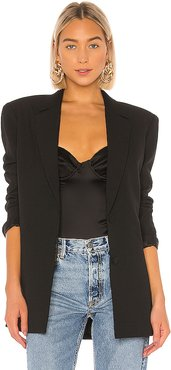 Power Blazer in Black. - size L (also in XXS,M)